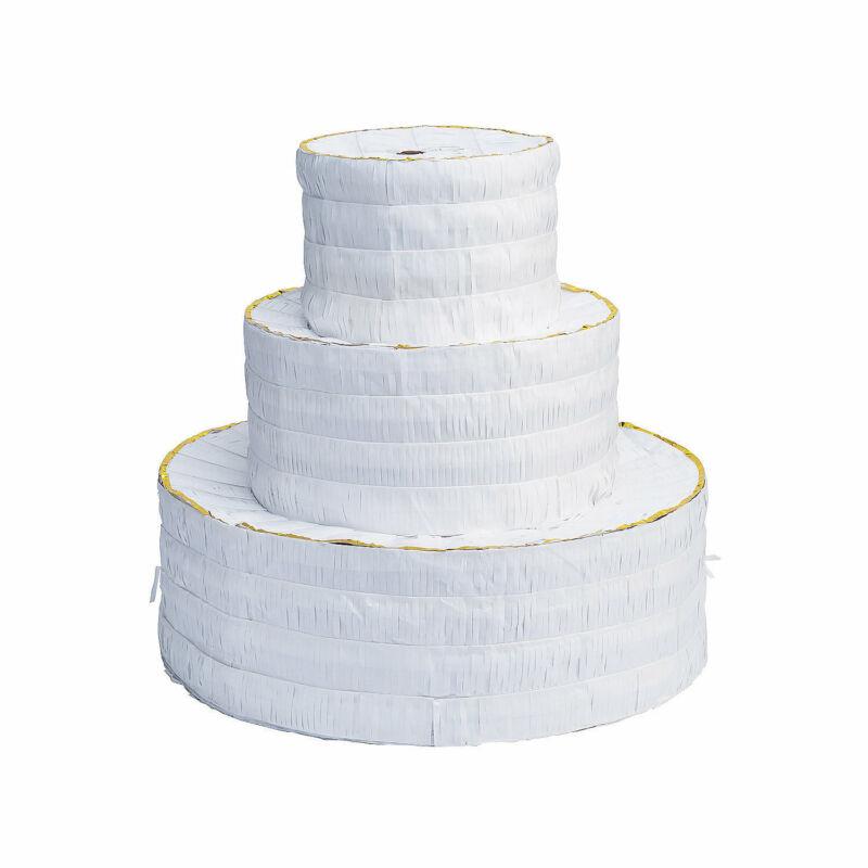 Wedding Cake Piñata - Party Decor - 1 Piece