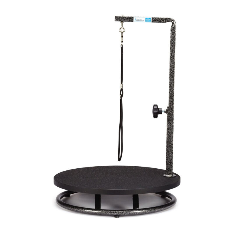 Pet Edge TP160 17 Master Equipment Steel Small Pet Dog Grooming Table, Black