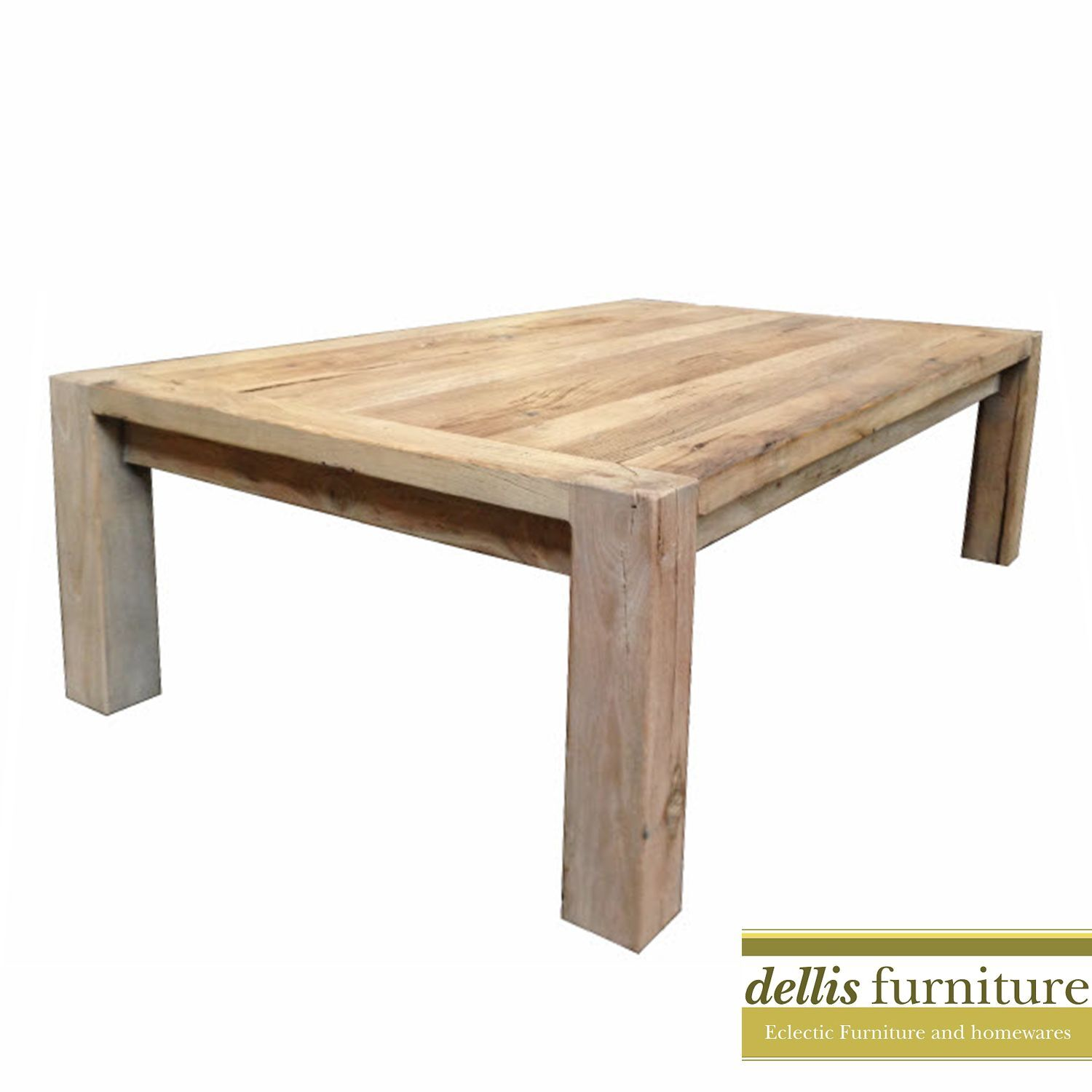 DEAL 39 Madrid 39 Recycled Elm Timber Dining Set TABLE 200cm 2 BENC