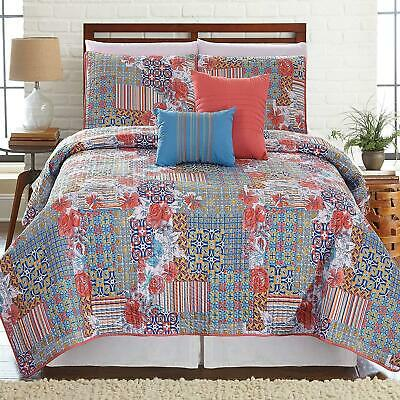Amrapur Overseas Bellanova 5-Piece Printed Reversible Sheet