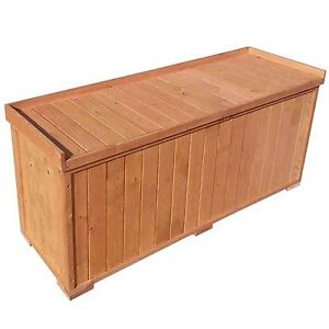 Wooden Garden Storage Boxes  sc 1 st  eBay & Wooden Storage Boxes | eBay