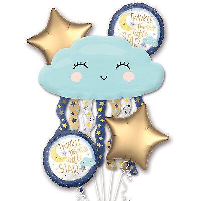 Twinkle Twinkle Little Star Party Decorations (Baby Shower Foil Balloon Bouquet Twinkle Twinkle Little Star Party)