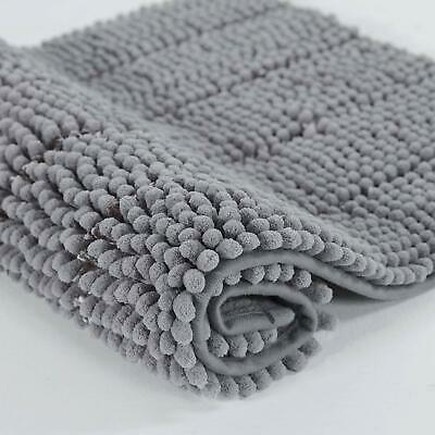 Bath Mat Non Slip Soft Absorbent Bathroom Shower Rug Carpet Machine Washable