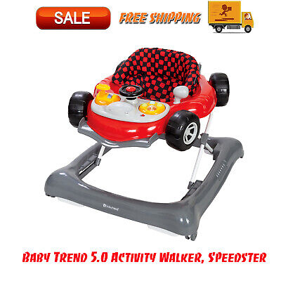 Baby Trend 5.0 Activity Walker, Speedster, Baby Gear, A Fun Race Car