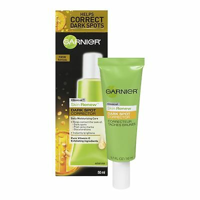 Garnier Skin Renew Clinical Dark Spot Corrector  1 7 Fluid Oz  New No Box