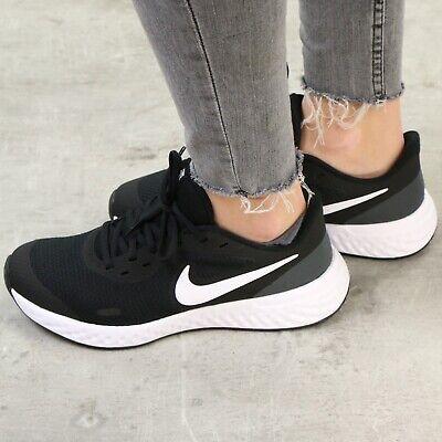 Nike Revolution 5 (GS) Laufschuhe Sneaker Schuhe Kinder Damen Schwarz BQ5671 003