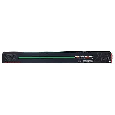 Star Wars Force Fx Lightsaber (Star Wars The Black Series Luke Skywalker Force FX Green Lightsaber Brand)