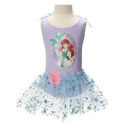 Disney Princess Ballet Tutu and Leotard Ariel Costume-Halloween or Dress Up NWT - Ariel Halloween Costume Teenager