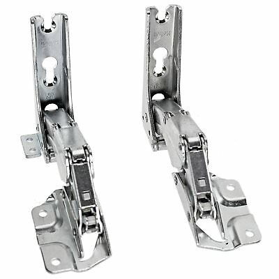 CDA Fridge Freezer Door Hinges Integrated Hettich Left Right Pair 3362 3363 5.0