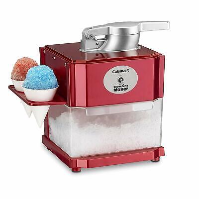 Snow Cone Maker Machine Shaved Ice Sno Cone Frozen Ice Shaving Snowcone Wcones