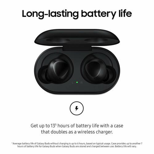 Samsung Galaxy Buds True Wireless In-Ear Bluetooth Headphones Black SM-R170 2019