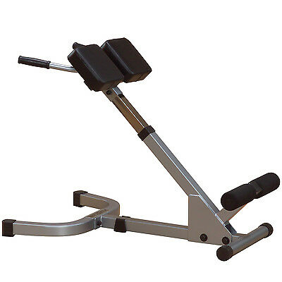 Powerline PHYP200X 45 Degree Back Hyperextension Home Gym Core Strength Bench