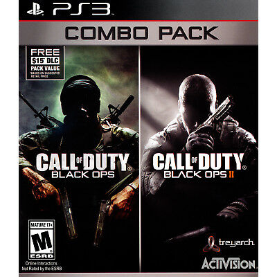 $14.18 - Call of Duty: Black Ops 1 & 2 Combo Pack PS3 [Brand New]