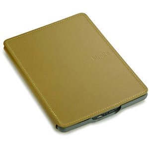 Amazon Official Kindle TOUCH Genuine Leather Cover NON-LIGHTED Case OLIVE GREEN