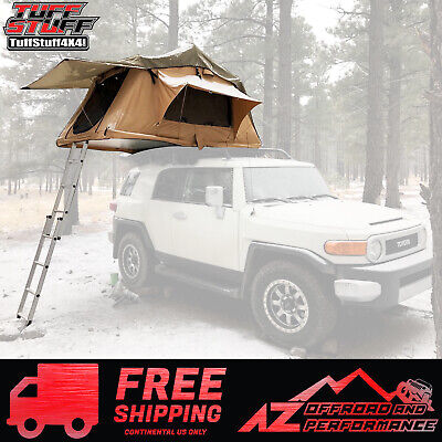 Tuff Stuff 4x4 Delta Overland Roof Top Tent - 2 Person Jeep & Truck Universal