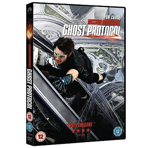 MISSION IMPOSSIBLE GHOST PROTOCOL DVD NEW SEALED GENUINE GUARANTEED UK STOCK