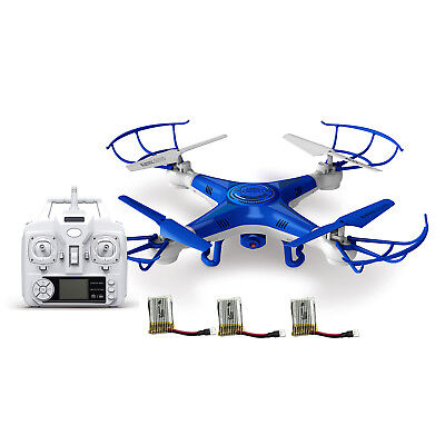 Alta Quadcopter ProCam RC Drone with Camera, Inaccessible Control and 3 Batteries