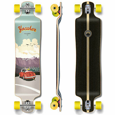 Yocaher VW Beetle Series Complete Shape of Skateboard Longboards