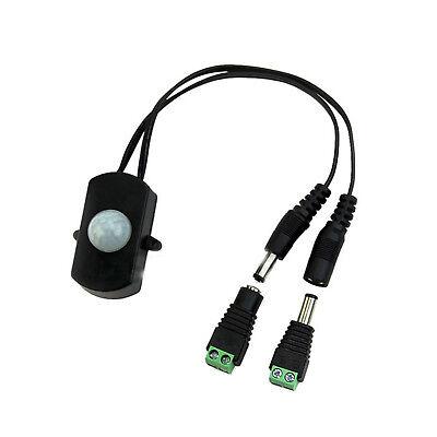 Infrared Pir Infrared Motion Sensor Detector Switch For Led Strip Dc5-24v 5a Bbc