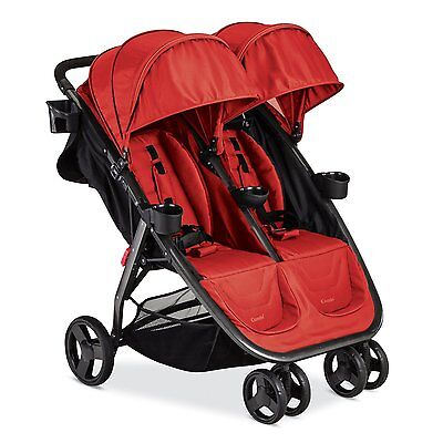 Combi Fold N Go Double Stroller in Salsa Brand New!! Free Shipping!!