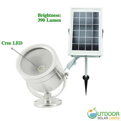 High Intensity Solar Powered Futuristic Spot Light with Best LED brand