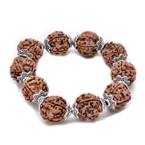 Rudraksha Bracelet Rudraksh Bracelet 5 Mukhi Rudraksha Beads Kada WristBand