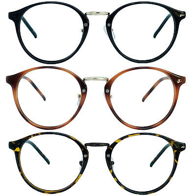 Retro Oval Round Reader Reading Glasses For Men and Women (Round Reader Glasses)