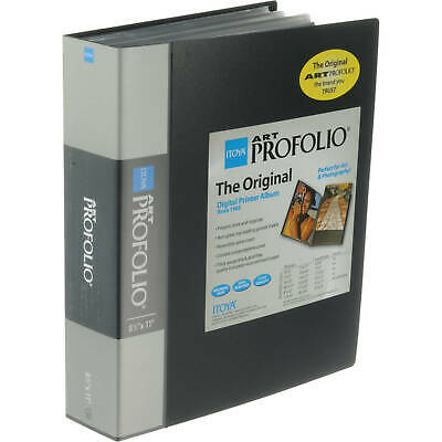 Itoya Art Profolio Presentation Book with 12 8-1/2x11