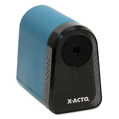 X-acto Mighty Mite Home Office Electric Pencil Sharpener Mineral Green 19500