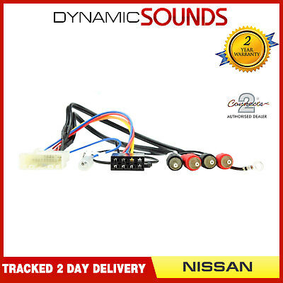 CT20NS07 Car Stereo Radio ISO Wiring Harness Adaptor Loom Lead for Nissan 2007>