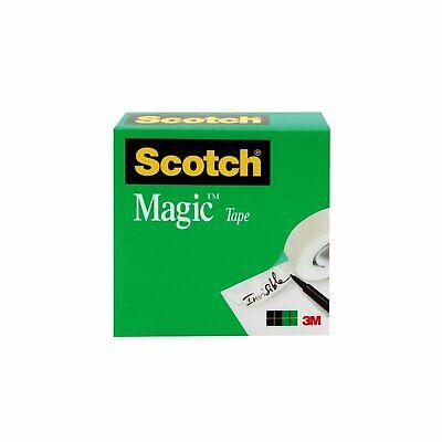 Scotch Magic Tape 1 X 2592 Inches 3 Inch Core Boxed 810