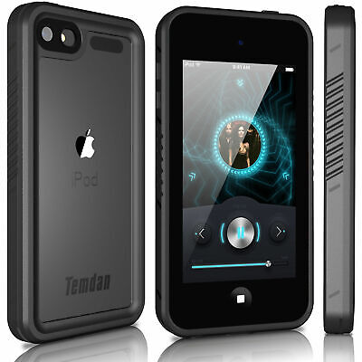 For Apple iPod Touch 7th Gen Waterproof Military Gorilla Case & Screen - Apple Ipod Touch Clip