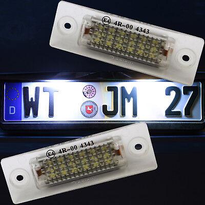 TOP LED Kennzeichenbeleuchtung VW T5 Passat 3C B6 Caddy Touran Golf Plus 7403