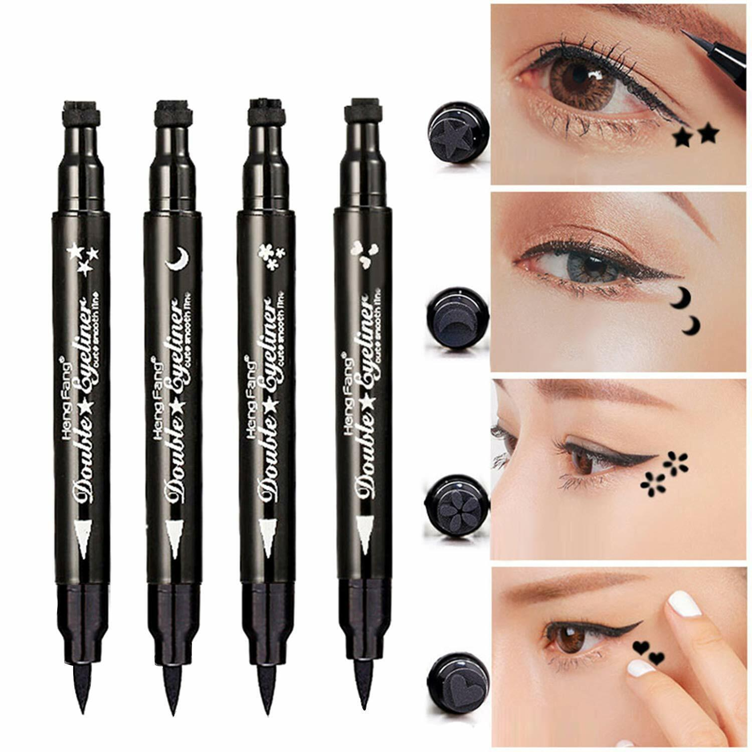 1 Ps Winged Stamp Eyeliner Waterproof Makeup Cosmetic Eye Liner Pencil Liquid US Eyeliner