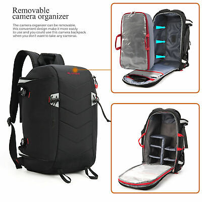 Camera Backpack Large Organizer For Canon Nikon Sony SLR DSLR Camera Accessories