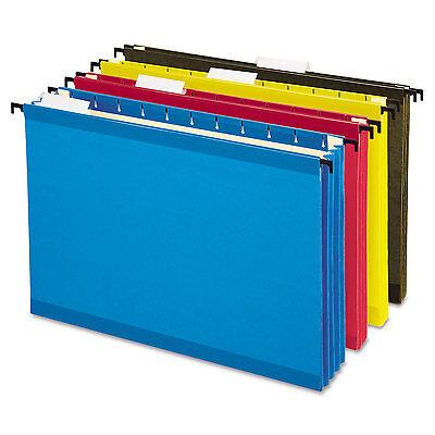 Pendaflex Hanging Pocket Files 3 1/2 Inch Expansion Letter Assorted 4 per pack