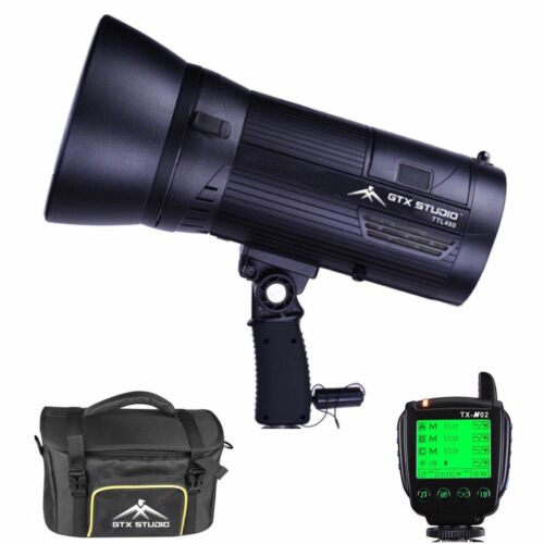 LED 400W Strobe Studio Flash for Nikon TTL Electronic Flash Unit Photo