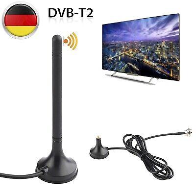 Leistungsstarke DVB-T2 HD Zimmer-Antenne 36dbi Für Fernseh HDTV Radio PC Laptop