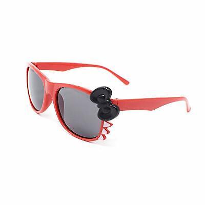 Rot + Schwarzer Schleife Style Kinder-Kostüm Brillen Perfekt für Partys Hüfthose (Rote Schleife Brille)