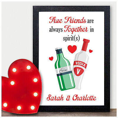 PERSONALISED Gifts for Best Friends BFF Work Colleagues Birthday Novelty