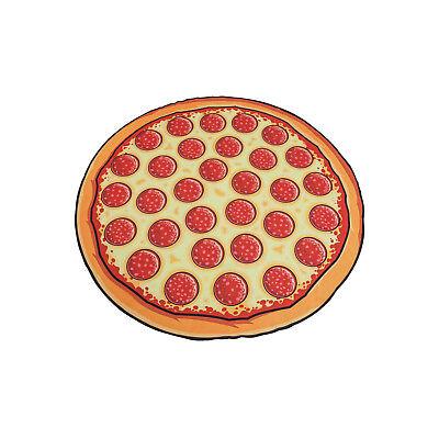 Badetuch Pizza Strandtuch Pizza Salami Duschtuch Badehandtuch Salami Pizza