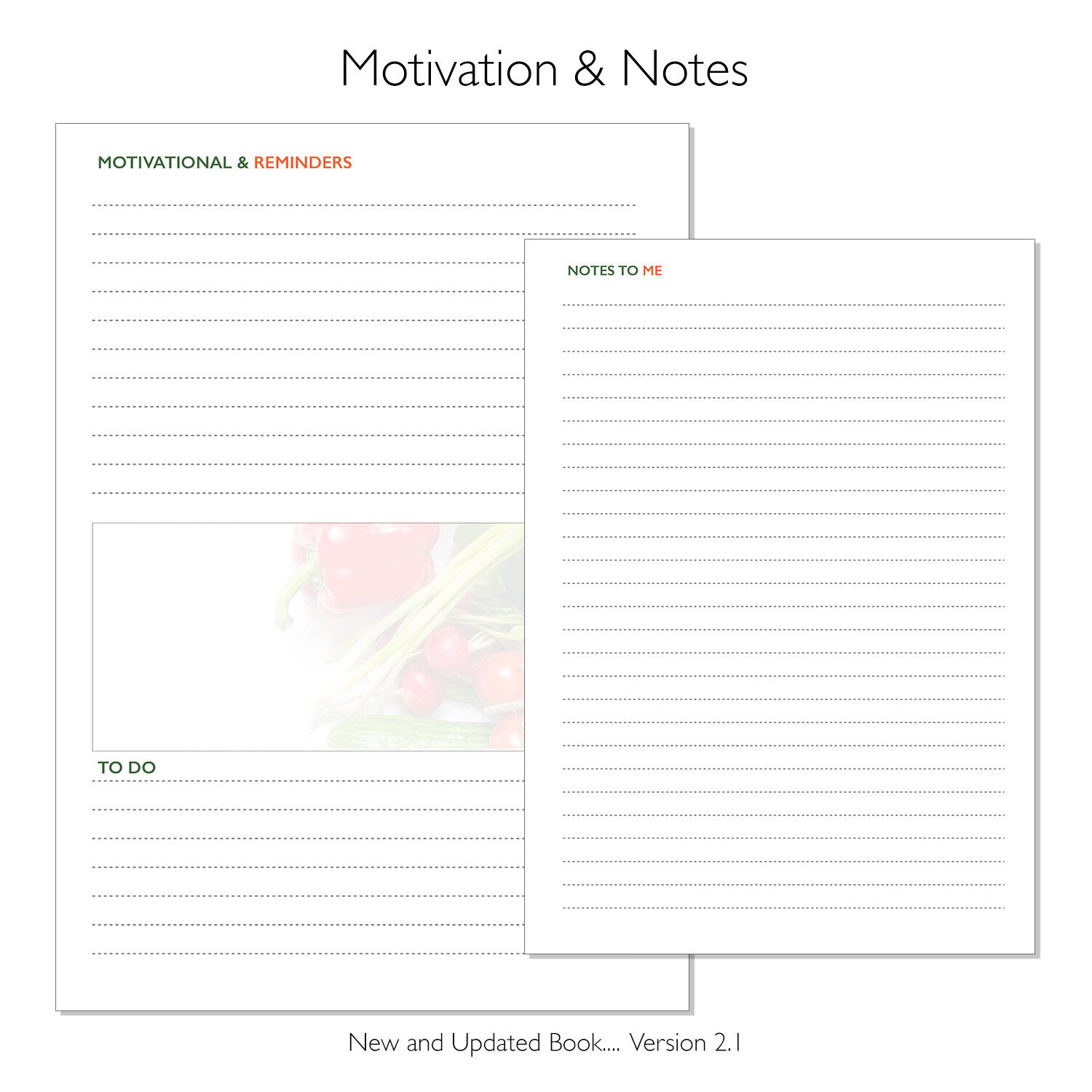 A5 Diet Diary Slimming Weight Loss Tracker Diet Planner Food Journal, A Moment