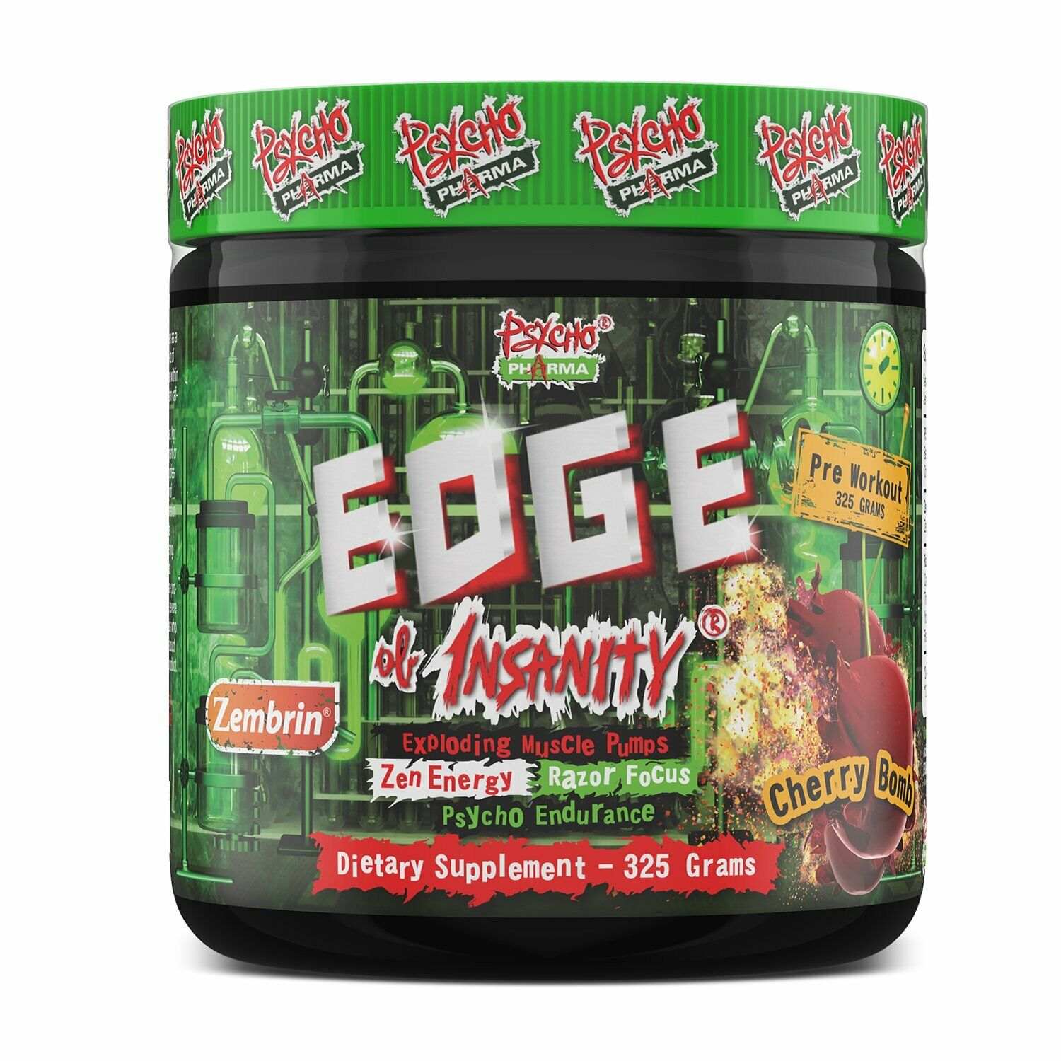 Edge Of Insanity Pre-Workout 25 Servings All Flavors FAST FREE SHIPPING!