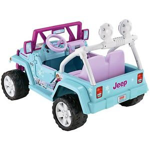 Broken power wheels jeep wanted today
