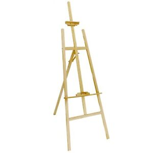 NEW! 6ft 1800mm Wooden Pine Tripod Studio Canvas Easel Art Stand