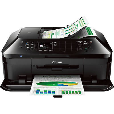 Canon PIXMA MX922 Wireless Color All-in-One Inkjet Office Printer Scan Copy Fax
