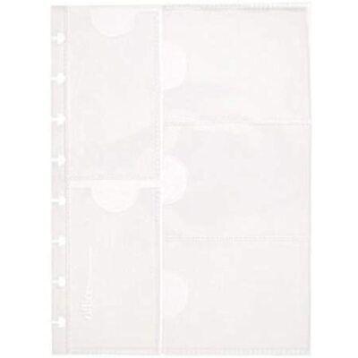 Office By Martha Stewart Discbound Business Card Holder Junior Size Clear