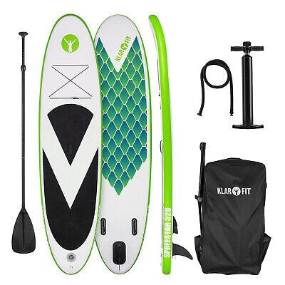 Tabla de paddle surf hinchable SUP Stand up paddle 320x12x81 Remo Board Verde  segunda mano  España