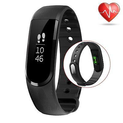 b56e2b832 Waterproof Smart Watch Heart Rate Monitor Pedometer Fitness Wristband  Bracelet