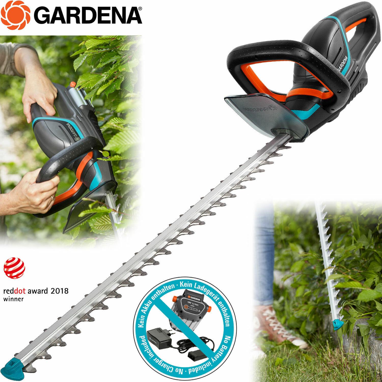 Gardena Akku Heckenschere SOLO Strauchschere Heckentrimmer 60cm Schwertlänge TOP